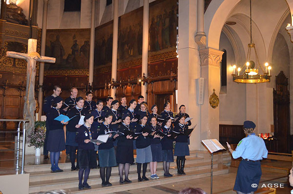 Chorale scouts Europe
