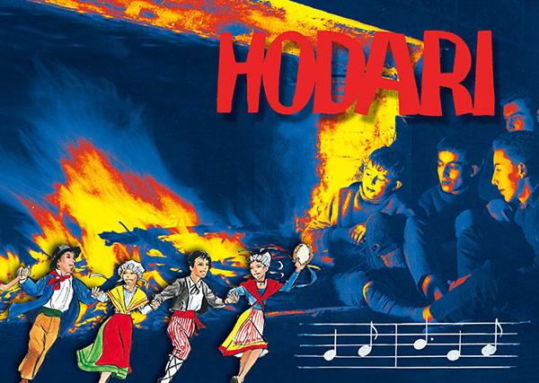 Hodari chants scouts