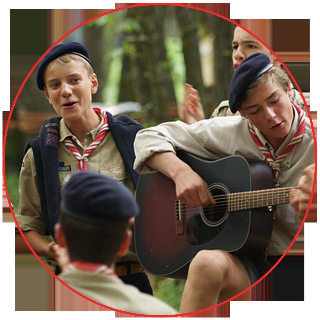 liste officielle des inscrits au concours chants scouts