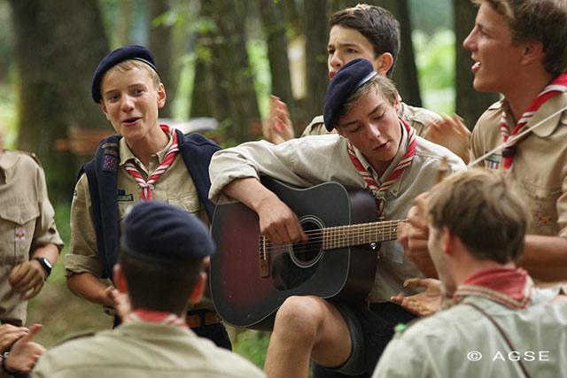 musique chants scouts